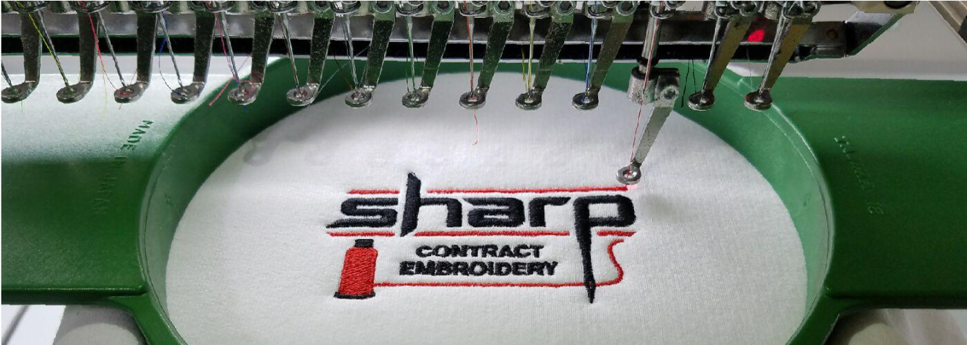 About Us Sharp Contract Embroidery